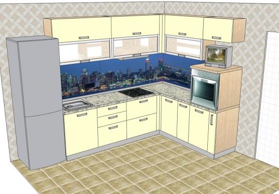 Кухня мдф oxford